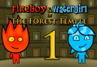 בן האש ובת המים 1 מקדש היער