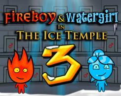 בן האש ובת המים 3 מקדש הקרח