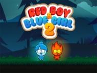ילד אדום וילדה כחולה 2